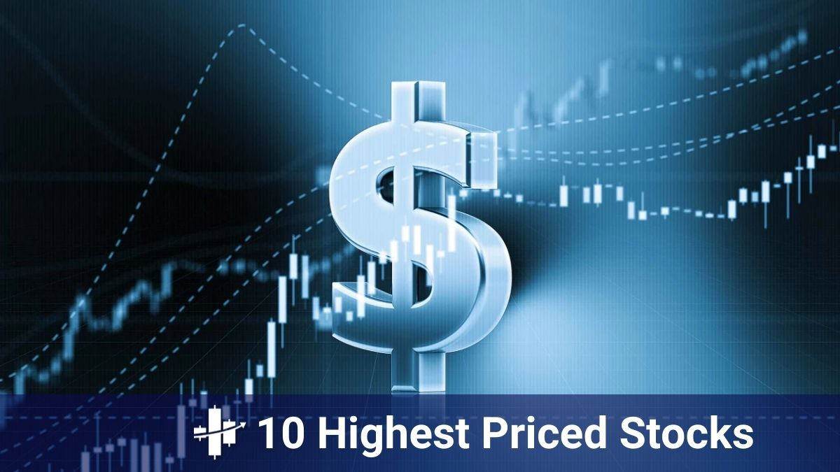 Ten most expensive stocks in 2021