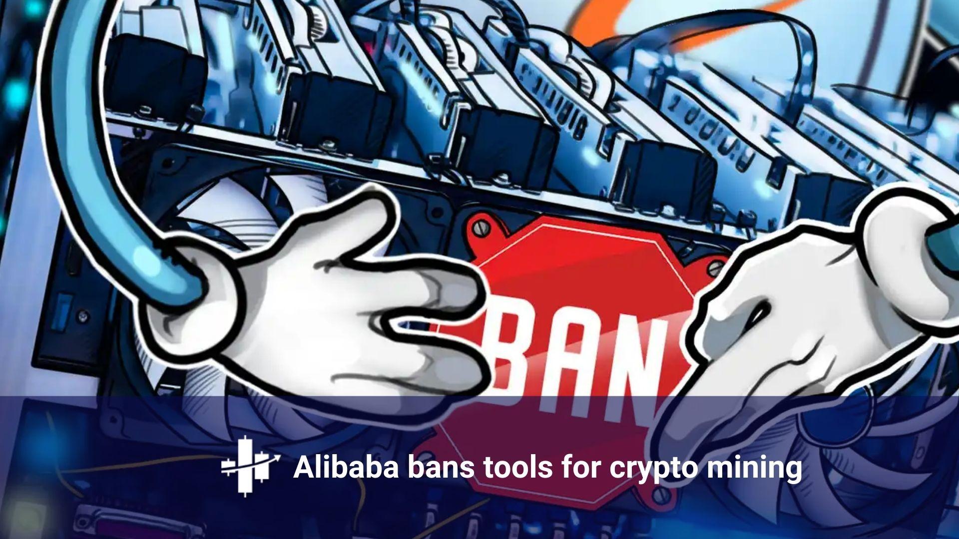 Alibaba Bans Sales of Crypto Mining Equipment