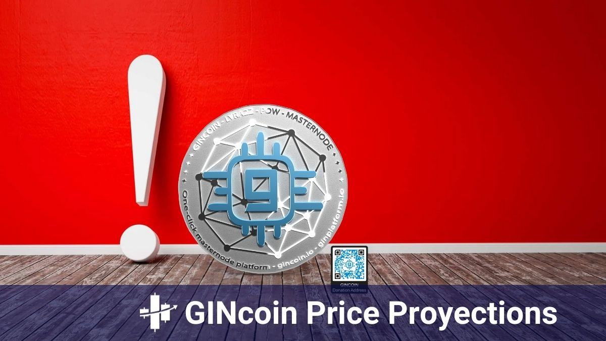 GINcoin Price Proyections, Chart, and Marketcap