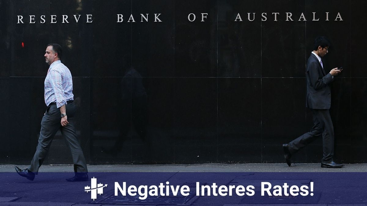 Why the negative interest rates force the banks of australia to come up with plan