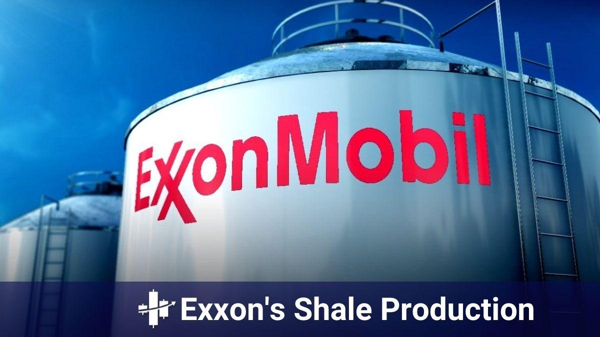 Exxon's shale production